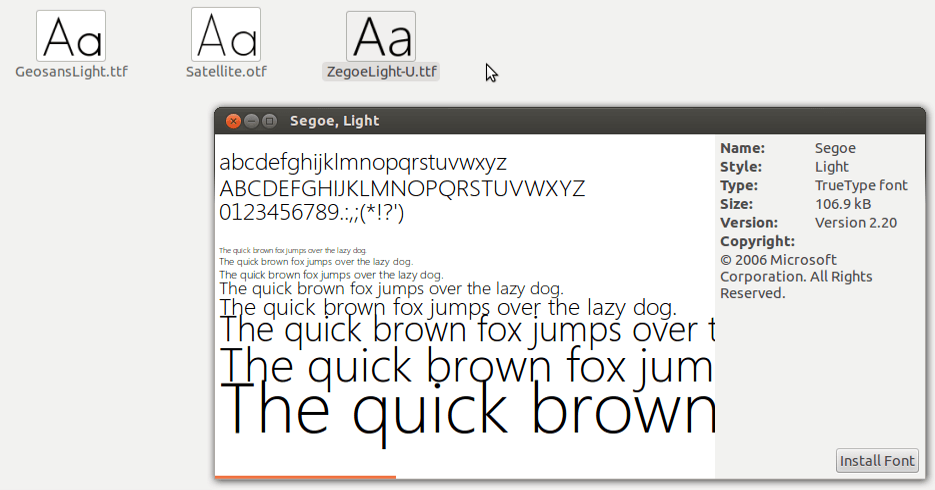 How to Install Fonts in Ubuntu